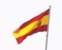 Bandeira espanhola foto de stock royalty free