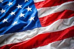 Bandeira EUA Fotos de Stock Royalty Free