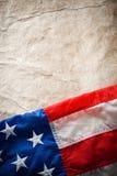 Bandeira EUA Foto de Stock Royalty Free