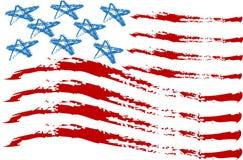 Bandeira EUA Fotos de Stock