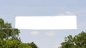 Bandeira exterior Fotos de Stock Royalty Free