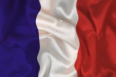 Bandeira francesa - digital imagens de stock royalty free