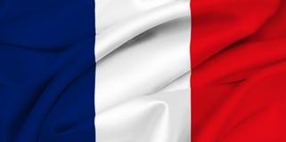 Bandeira francesa - France Imagens de Stock Royalty Free