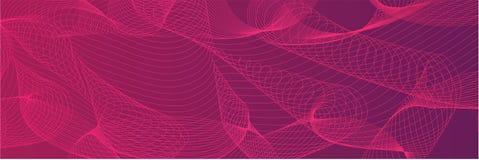 A bandeira geométrica abstrata moderna da Web e do inseto projeta Fotos de Stock Royalty Free