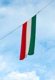Bandeira húngara Imagens de Stock Royalty Free