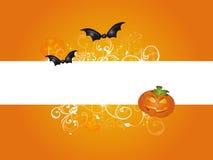Bandeira Halloween Foto de Stock