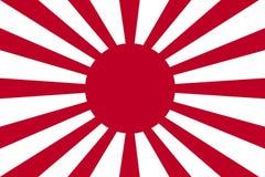 Bandeira histórica da guerra do exército de japonês imperial Proporções originais Imagem de Stock Royalty Free