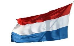 Bandeira holandesa imagem de stock