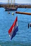 Bandeira holandesa Fotografia de Stock Royalty Free