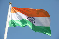 Bandeira indiana Imagem de Stock Royalty Free