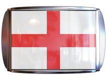 Bandeira a Inglaterra Imagens de Stock Royalty Free