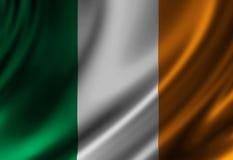 Bandeira irlandesa Foto de Stock Royalty Free