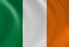 Bandeira irlandesa Foto de Stock