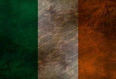 Bandeira irlandesa gasta Imagens de Stock Royalty Free