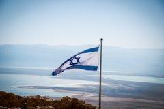 Bandeira israelita Imagem de Stock Royalty Free