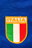 Bandeira italiana Imagem de Stock