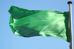 Bandeira líbio fotografia de stock royalty free
