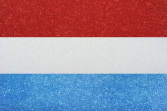 Bandeira luxembourg Fotos de Stock Royalty Free