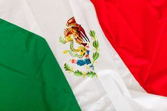 Bandeira mexicana Foto de Stock Royalty Free