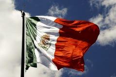 Bandeira mexicana Imagens de Stock