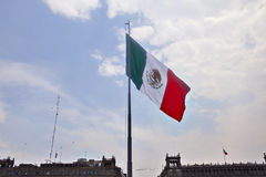 Bandeira mexicana Foto de Stock