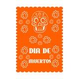 Bandeira mexicana, México Imagens de Stock