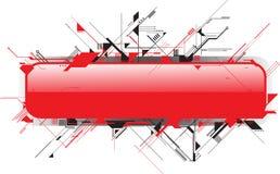Bandeira moderna Foto de Stock