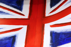Bandeira na cidade de Camden, Londres Fotos de Stock