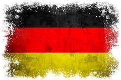 Bandeira nacional de Alemanha Fotografia de Stock