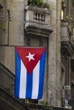 Bandeira nacional de Cuba Imagens de Stock Royalty Free