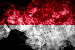 Bandeira nacional de Indonésia fotos de stock