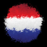 Bandeira nacional de Luxembourg Imagem de Stock Royalty Free
