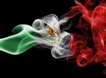 Bandeira nacional do fumo de México fotos de stock