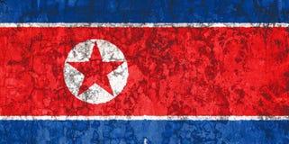 Bandeira nacional no fundo da parede velha foto de stock royalty free