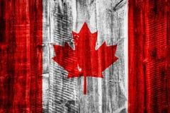 Bandeira nacional no fundo de madeira estrutural ilustração do vetor