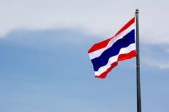 Bandeira nacional tailandesa Fotos de Stock