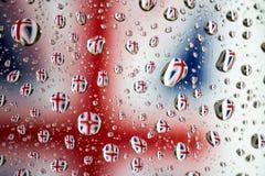 bandeira nacional unida de Reino Unido fotos de stock royalty free
