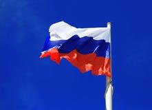 Bandeira no fundo do céu Imagem de Stock Royalty Free