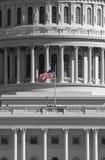 Bandeira no nós edifício de capital Imagem de Stock Royalty Free