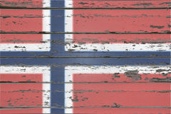 Bandeira norueguesa Foto de Stock