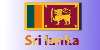 Bandeira, país ilustração royalty free