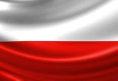 Bandeira polonesa Imagens de Stock Royalty Free