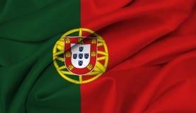 Bandeira portuguesa - Portugal Ilustração do Vetor