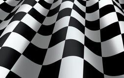 Bandeira quadriculado Fotografia de Stock