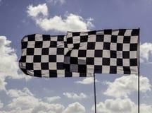 Bandeira quadriculado Fotos de Stock