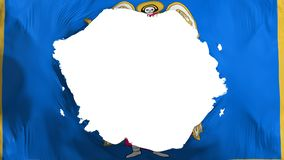 Bandeira quebrada de Kyiv Kiev ilustração royalty free