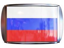 Bandeira a Rússia Fotos de Stock Royalty Free