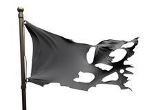 Bandeira rasgada rasgada Fotos de Stock Royalty Free