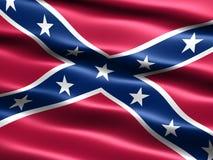 Bandeira rebelde Foto de Stock