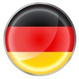 Bandeira redonda da tecla Imagem de Stock
